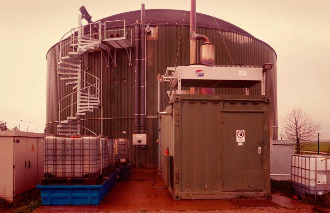 Biogasanlage Selbitz