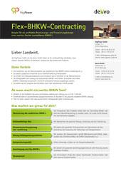 Flyer Flex-BHKW-Contracting